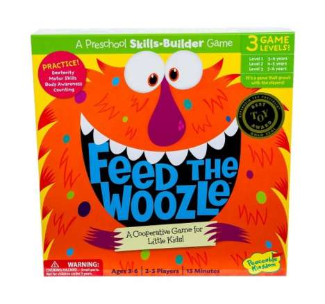 Cooperation-Promoting Board Games - The Feed the Woozle Game Encourages Children to Work Together