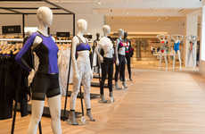 Integrated Bodywear Departments - The 'Body Studio' Combines Fashion, Fitting Stations and Food