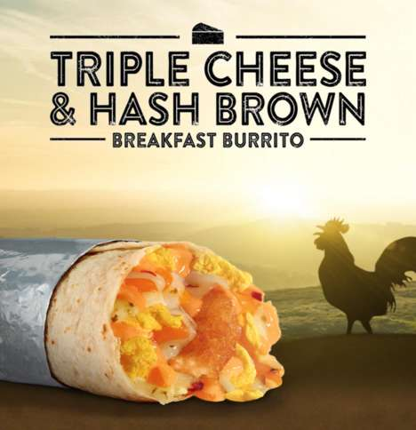 Hash Brown-Stuffed Burritos