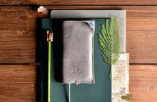 Italian Leather Smartphone Wallets - The Hardgraft 'Wild' Wallet Phone Case is for the New iPhone