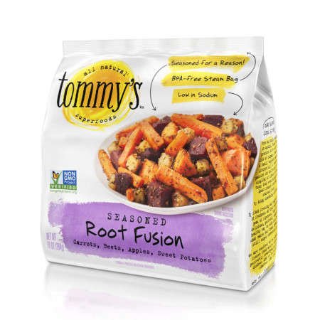 Unconventional Vegetable Mixes - Tommy's Superfoods Combines Beets, Carrots, Potatoes and Apples