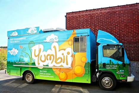 Eco-Friendly Food Trucks - The New Yumbii Truck Converts Exhaust into Nitrogen Gas and Water Vapor