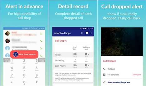 Dropped Call-Alerting Apps - The smartbro Range App Alerts Telecom Customers Of Possible Call Drops