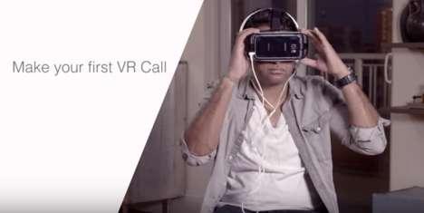 Virtual Reality Phone Calls