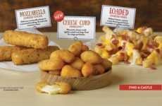 Deep-Fried Cheese Curds - This Limited-Time White Castle Menu Includes Wisconsin Cheese Curds