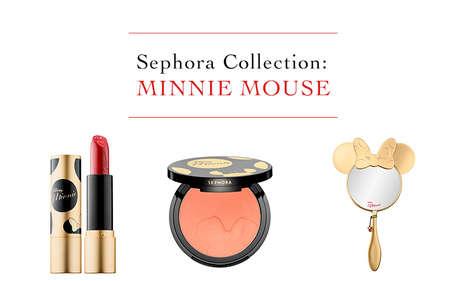 Golden Disney Makeup Lines