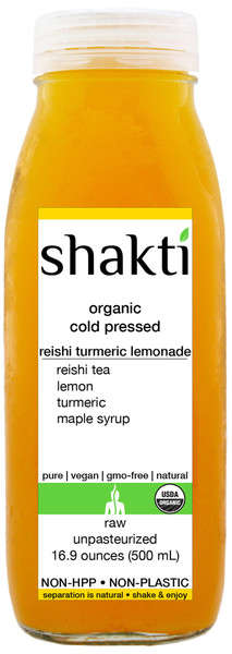Nourishing Turmeric Lemonades - Shaki Transforms Lemonade into a Potent Turmeric Drink
