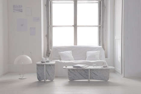 Puzzle-Like Marble Furniture