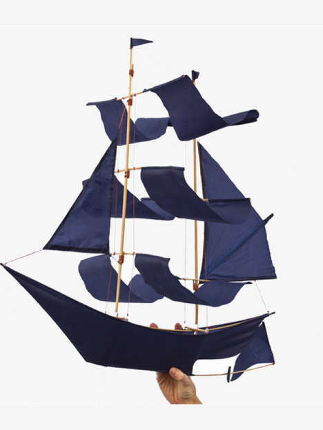 Sailing Ship Kites - This Nostalgic Toy is Designed for a New Generation of Outdoor Enthusiasts