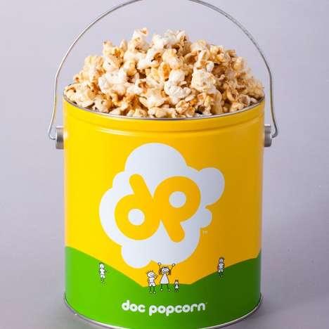 Crunchy Marshmallow Popcorn