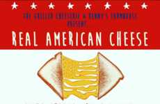 Celebratory Grilled Cheese Giveaways - This Event Marks National Grilled Cheese Sandwich Day