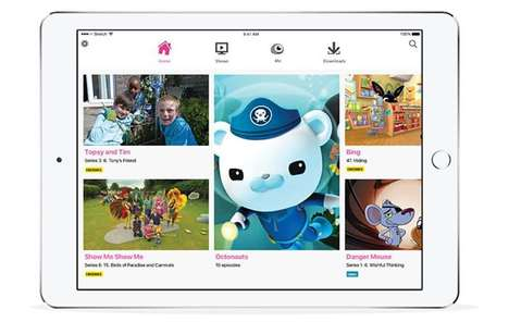 Kid-Friendly Entertainment Apps - The BBC iPlayer Kids App Provides Suitable Content for Young Ones