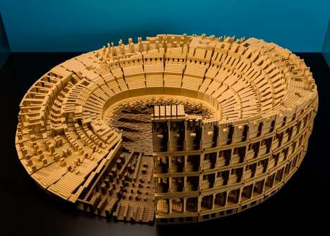 Architectural LEGO Creations