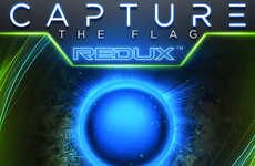Glow-in-the-Dark Classic Games - The 'REDUX' Capture the Flag Game Updates the Classic Pastime