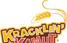 Toasted Wheat Snacks - The Kracklin' Kamut Wheat Snack Offers Tempting Flavors and Textures