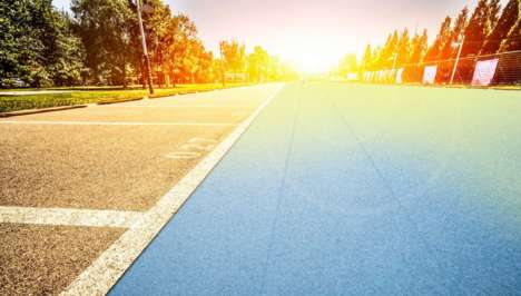 Solar Cell-Embedded Roads - 'Solmove' is Designing a Flexible Glass Carpet Filled with Solar Cells