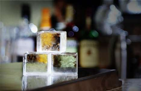 Perfectly Clear Ice Cubes