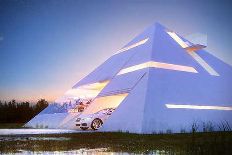 Triangular Transparent Abodes