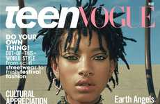 Teen Activist Editorials - Teen Vogue's 'The Global Issue' Edition Features Willow Smith