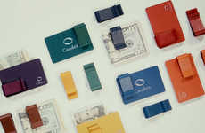 Multicolored Card Carriers - The 'Cauden' Leather Money Clip Helps Streamline Essential Items