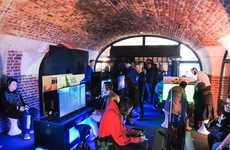 Underground Gaming Events - PlayStation's Pop-Up Let Fans Play VR Games Before Its Headset Release
