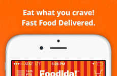 Crowdsourced Food Delivery Apps - The Foodida App Allows Anyone to Execute Fast Food Deliveries