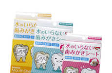 Oral Care Wipes - SCRATCH Addresses Oral Care and Travel with Its Unique Mouth Sheets