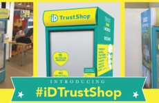 Trust-Based Food Shops - The #iDTrustShop is a Public Fridge that Uses the Honor System as Payment