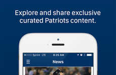 Fan-Rewarding Baseball Apps - The New Somerset Patriots App Rewards Fans For Social Media Activity