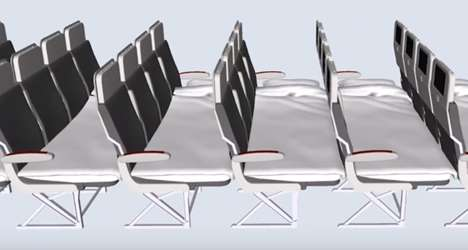 Economy Airline Beds - Geven Has Designed Lie-Flat Seats Geared to Economy Airplane Passengers