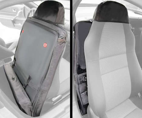 Vehicle Seat Luggage