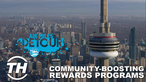 Community-Boosting Rewards Programs - Air Miles Detour Helps Members Bring Artists to Great Cities