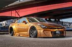 Gold-Plated Dream Cars