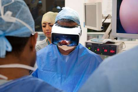 Live-Stream VR Surgeries