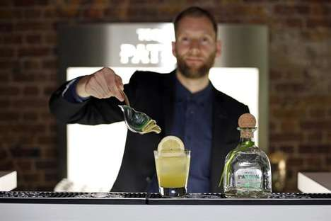 Immersive Tequila Event Tastings - The Art of Patron Event Series Launched in London's Shoreditch
