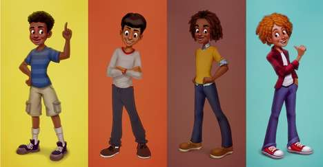Inclusive Boy-Focused Dolls - The 'Melanites' Toy Company Creates Toys for Boys of Color