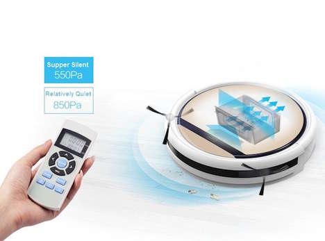 Wet-Dry Robotic Vacuums
