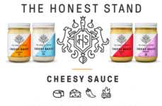 Creamy Vegan Condiments - The 'Cheesy Sauces' by 'The Honest Stand' are Made Entirely Without Dairy