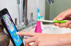 Gamified Dental Devices - The Playbrush Turns Children's Toothbrushes Into Gaming Controllers