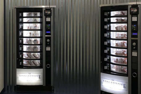 Sustainable Meat Vending Machines - Applestone Meat Company's Dispenser Serves Without Human Contact