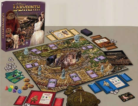 Nostalgic Film Board Games