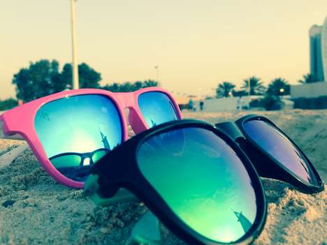 Magnetic Customizable Sunglasses