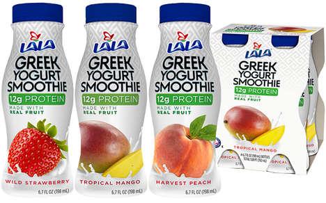 Drinkable Greek Yogurts