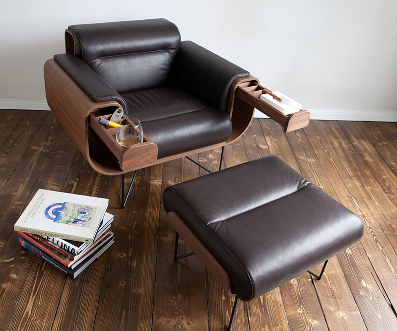 Modern Gentlemen's Chairs