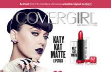 Celebrity-Branded Lipstick Collections