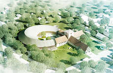 Crescent Viking Museums - The AART Architects Conceptual Building Design Opts for a Curved Aesthetic
