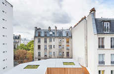 Contemporary Elderly Residences - This Parisian Apartment Offers Stylish Housing with Medical