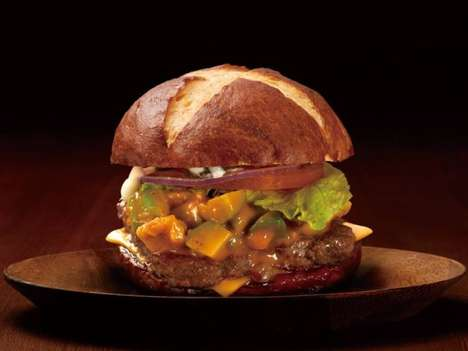 Pretzel-Topped Burgers