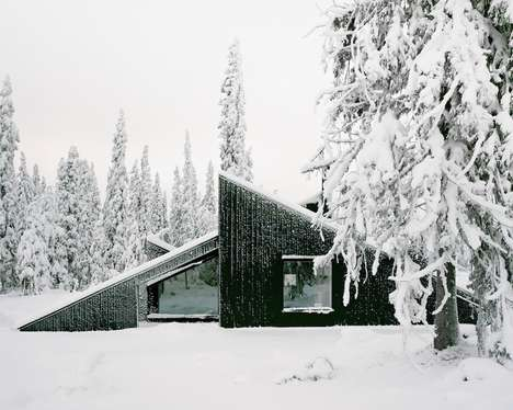 Ski Jump Cabin Designs