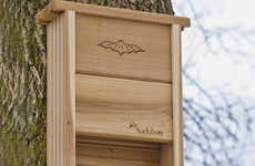 Friendly Bat-Oriented Abodes - The Audubon Bat House Encourages Bats to Nest Near Your Home